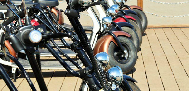 Scooter van spyder wheelz